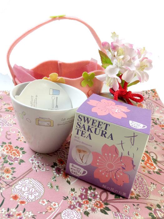 画像1: 桜花茶のギフトセット〜sakura-set (1)