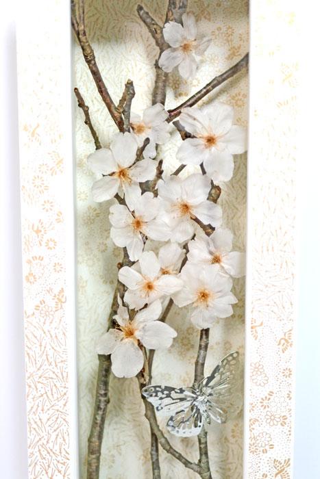 画像1: 桜のフレームアレンジ (1)