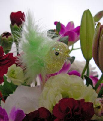 画像1: 小鳥のギフトアレンジメント (1)