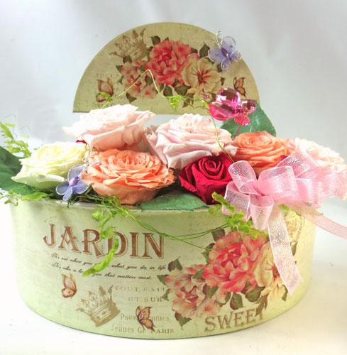 プリザーブドフラワーのバラの庭〜RoseGarden
