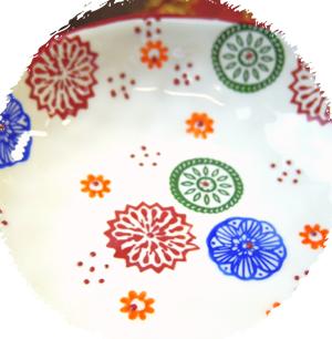 花柄絵付け和皿ギフトセット