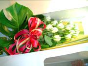 花束お届け例
