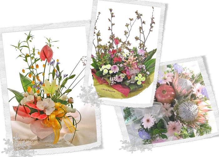 画像1: 生花アレンジメント|フル・オーダー (1)